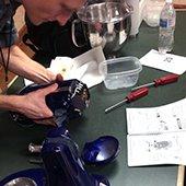 Fixing a mixer