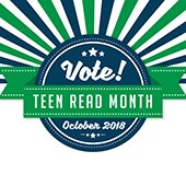teen read month graphic