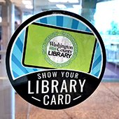 Show Your Library Card window clong