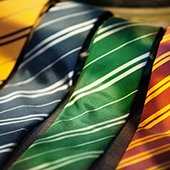 selection of colored ties