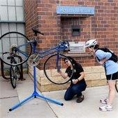 bike maintenance at fix-it clinic