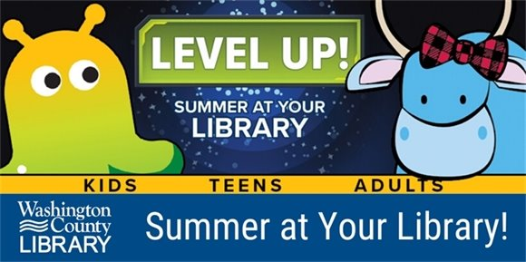 summer at your library banner