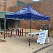 curbside pickup at R.H. Stafford Library