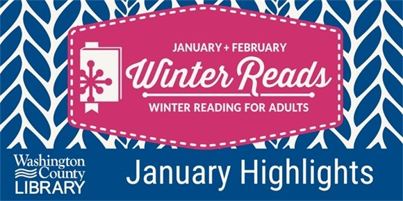 Winter Reads logo on banner