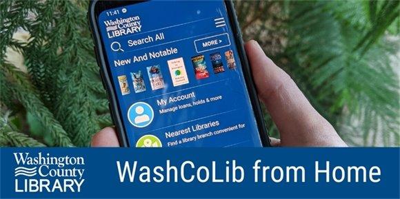 WashCoLib mobile app