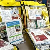 memory minder kits on a table