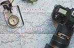 map and camera