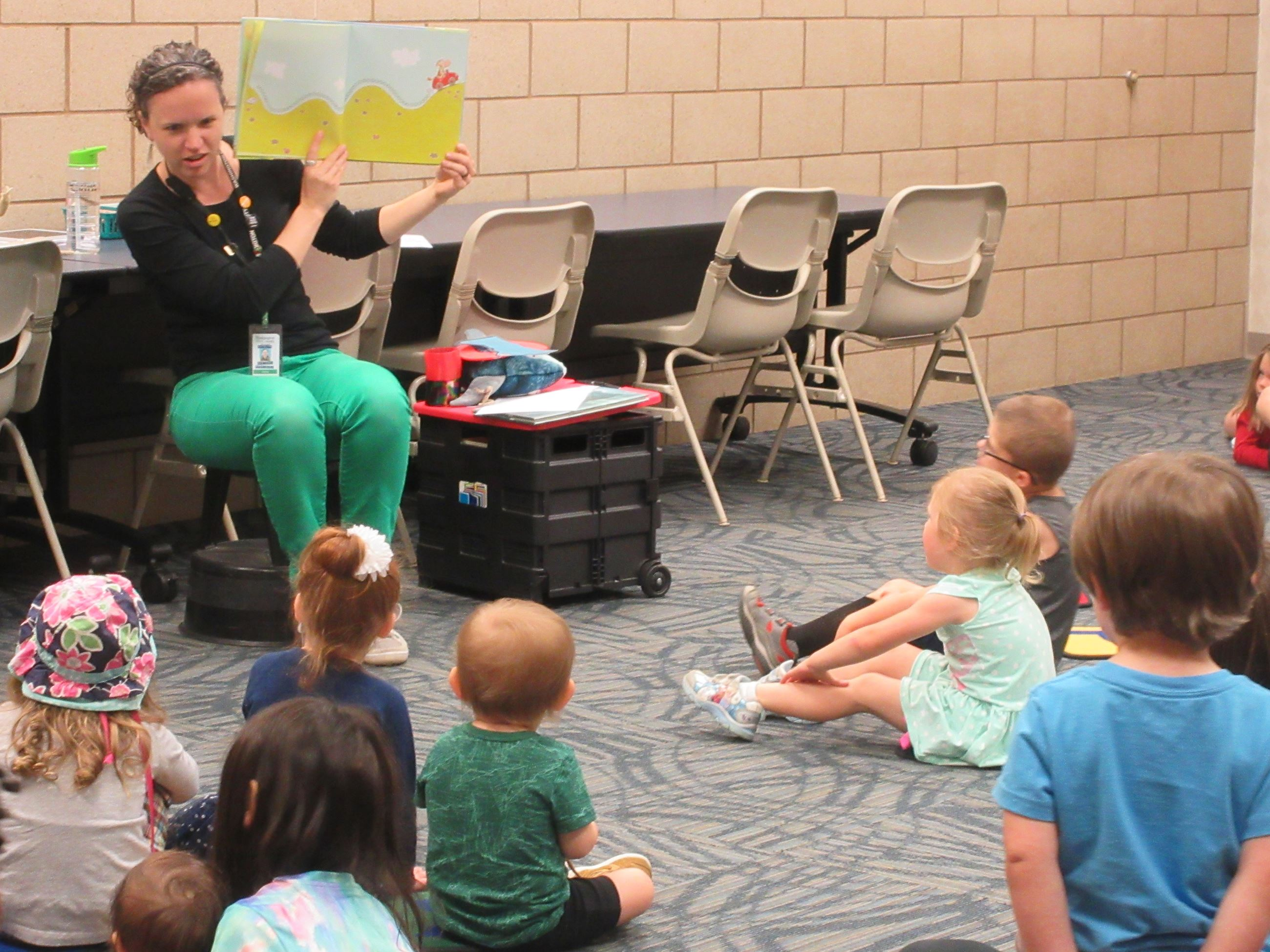 Storytime at Oakdale Library