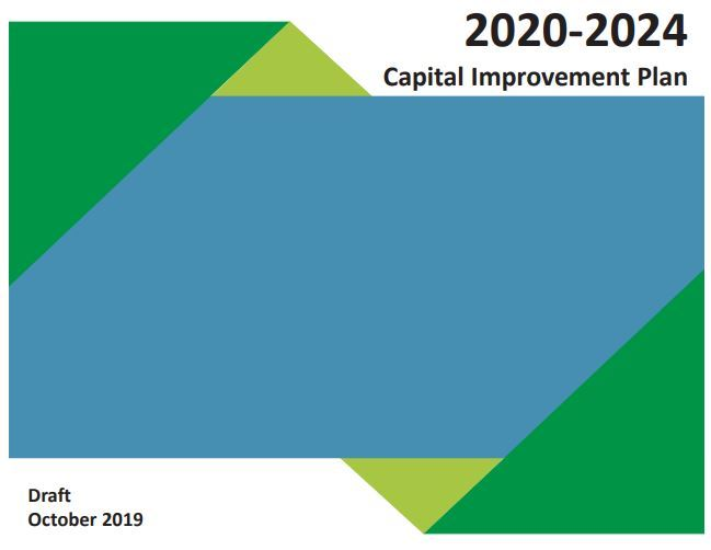 capital improvement plan cover