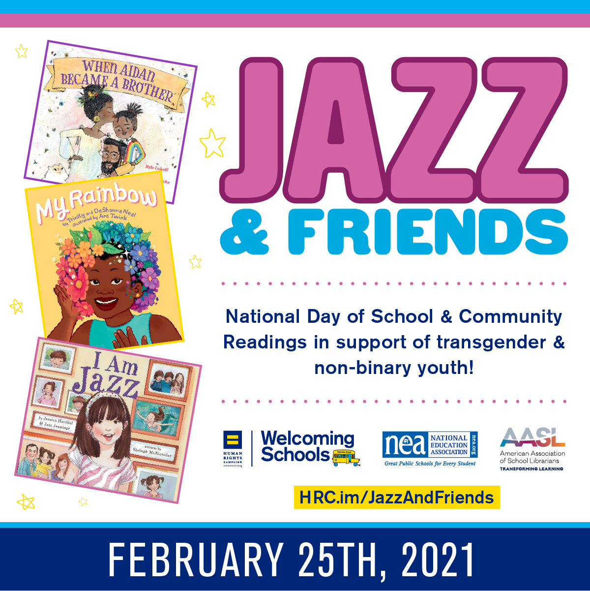 graphic for Jazz & Friends event