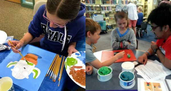 summer fun at R.H. Stafford Library