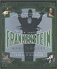 book cover for new annorated frankenstein