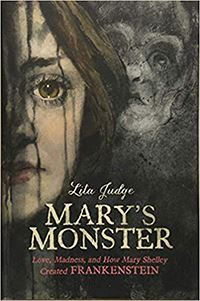 book cover for marys monster