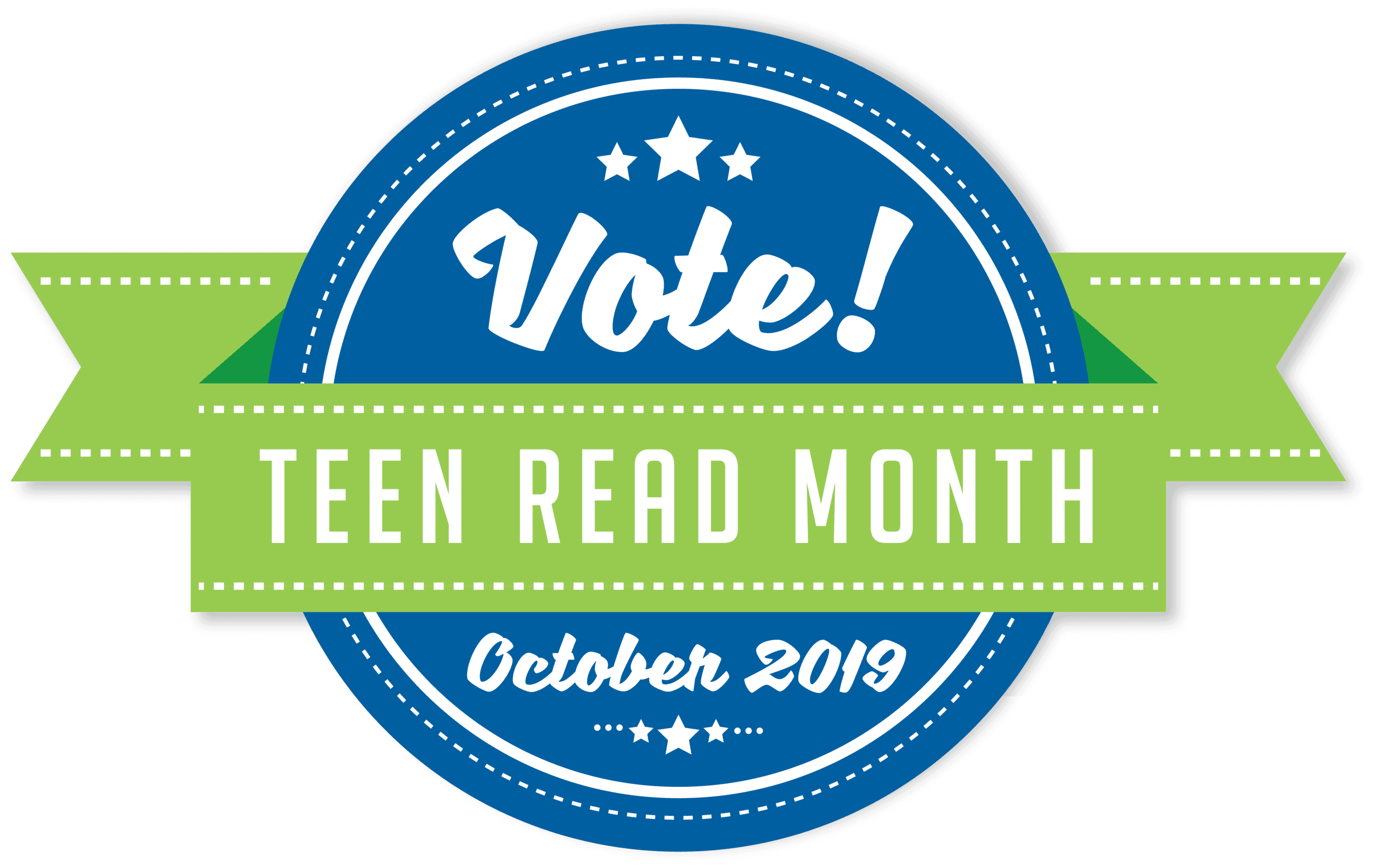 Teen Read Month 2019 logo