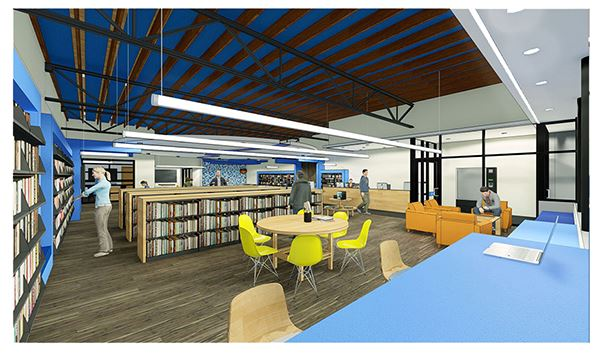 Valley Library Rendering 3