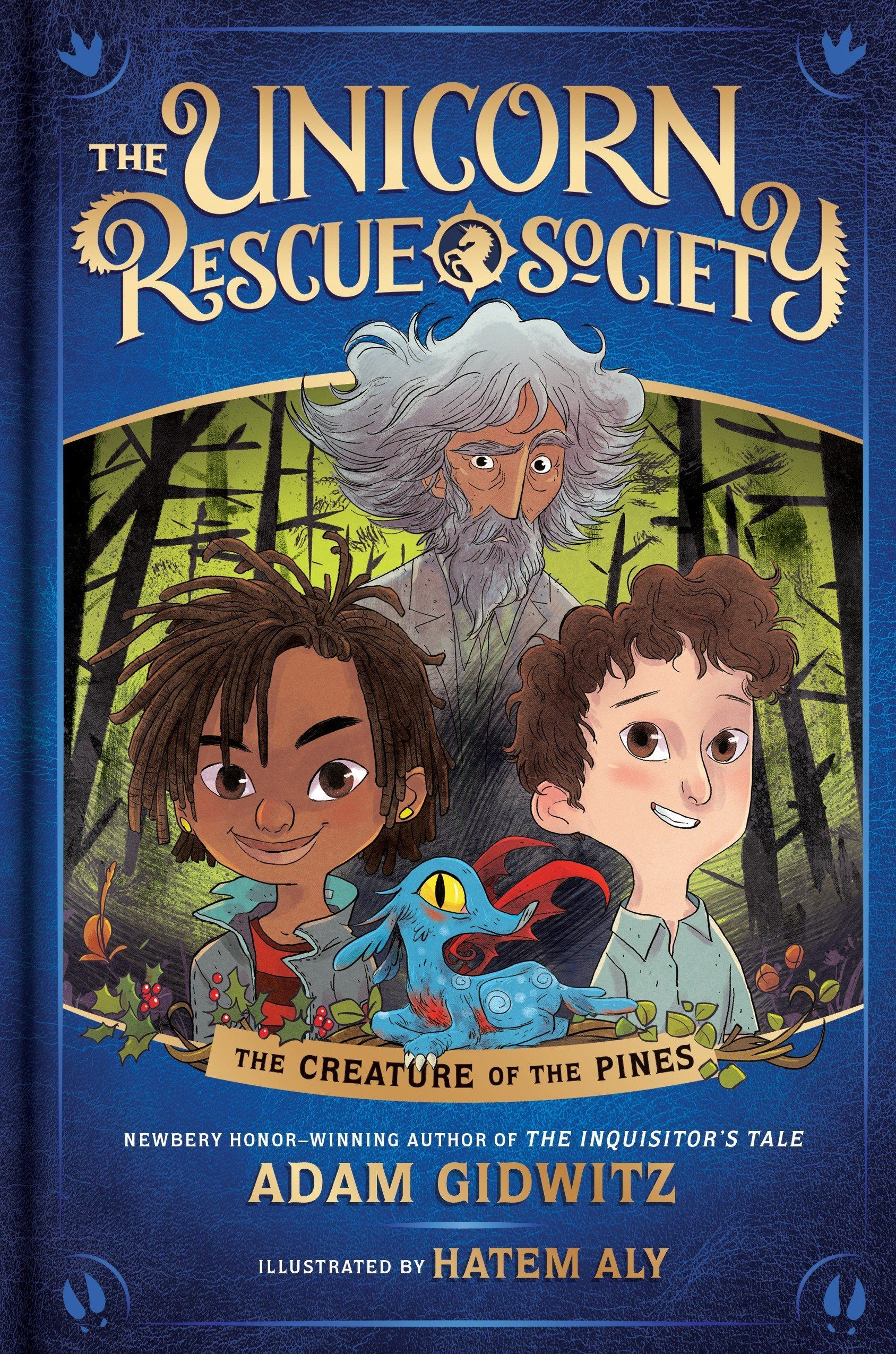 Image of a Unicorn Rescue Society book cover.