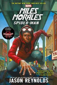 book cover miles morales spider-man by jason reynolds