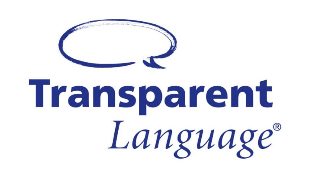Transparent Language Logo.
